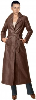 Leather coats for rectangle body types 128x350 Leather Overcoat Ideas for Rectangular Shaped Figure