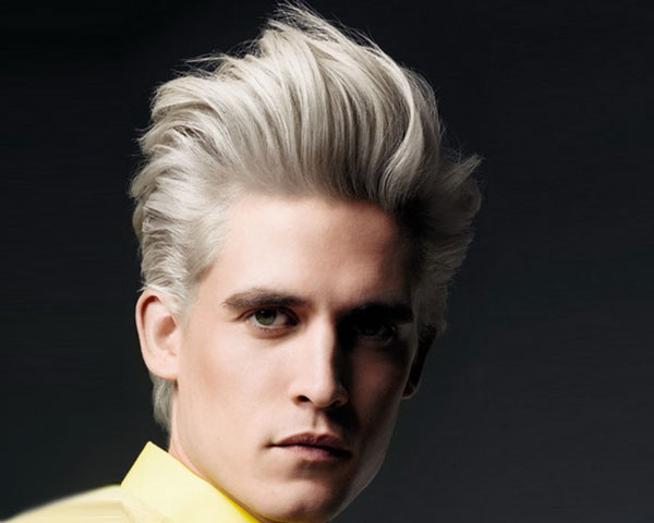 Hair Color For Men : Trendy Streaks of Hair Color for Men