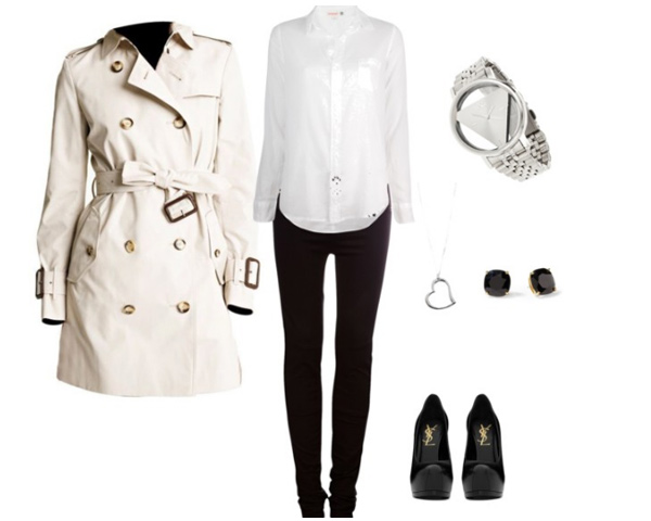 Trench Coat Dress Dress up Cool in Trench Coat
