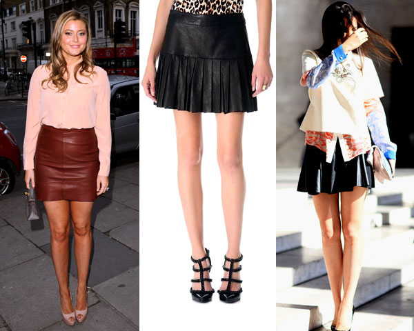 Unleash the Fall Trend With Stunning Styles Of Leather Skirts