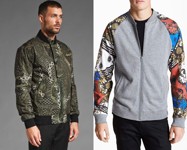 Printed Bomber jacket- The Hottest Winter Trend For Men!