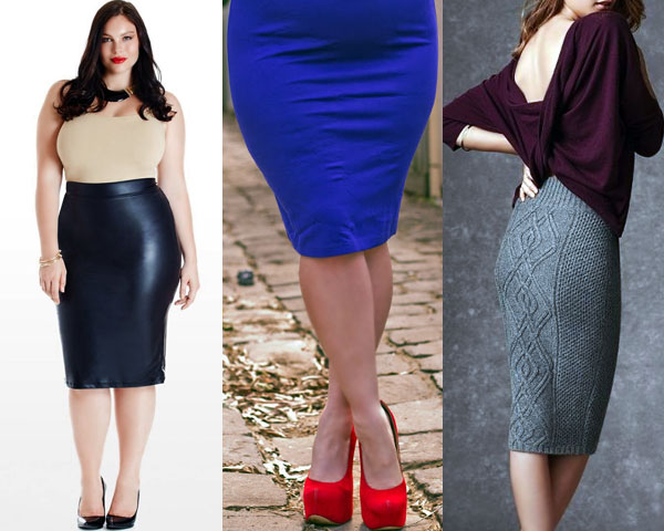 Curve Hugging Pencil Skirt
