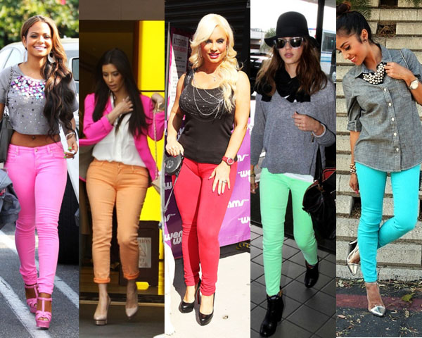 Colored Jeans: The Trend That Is Everywhere Now