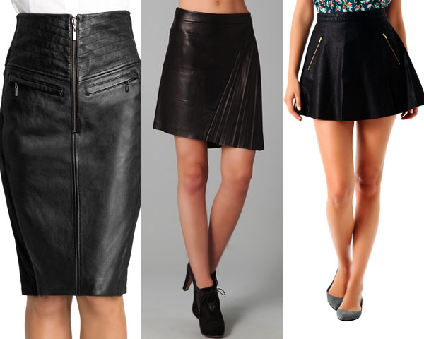 Womens Leather Skirt Photo Album - The Fashions Of Paradise