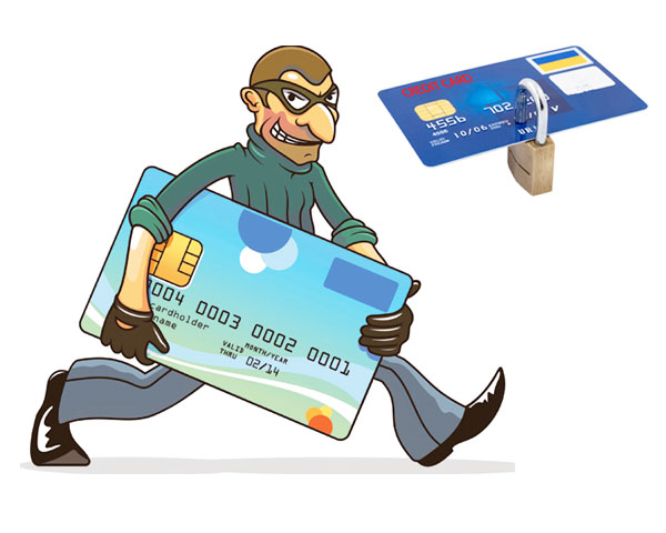 stole credit cards