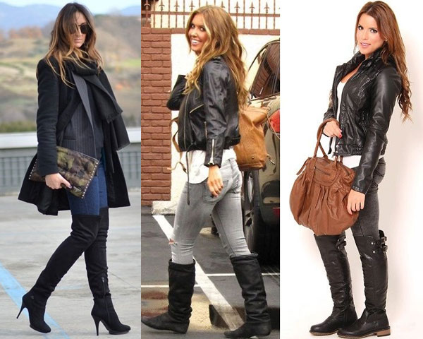Chic Ways to Step Out In Over-The-Knee Boots This Winter!