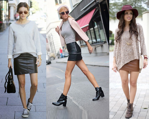 Wear short leather skirt – Modern skirts blog for you