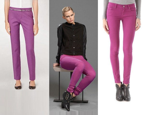 Radiant Orchid colored  pants