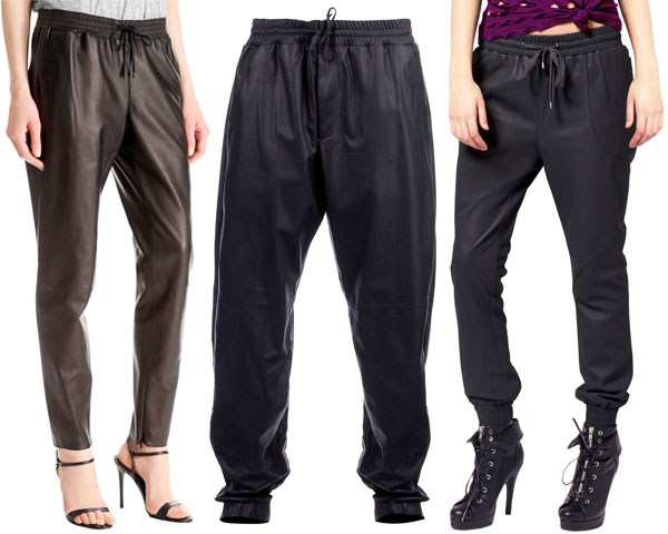 Leather Jogging Suits