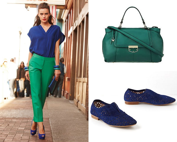 Oxford Blue U0026 Emerald Green
