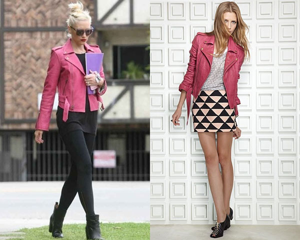 Biker Jacket Styles for spring 2014