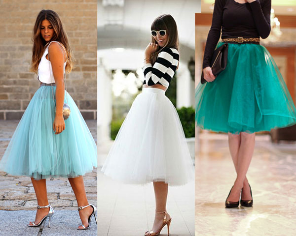 tully skirt with white top