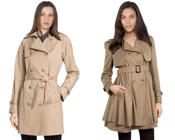 AuburnBrown trench coat