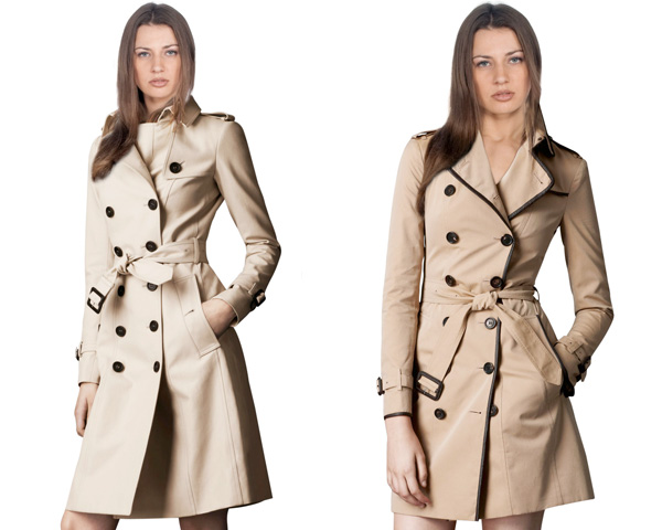 Seasonal trench coat