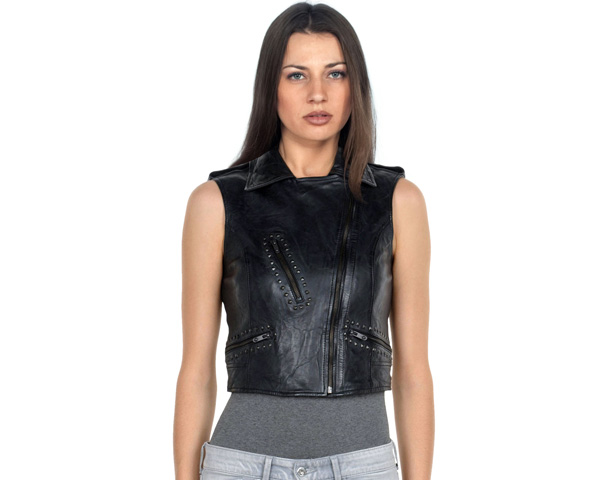 Thematic Style leather vest