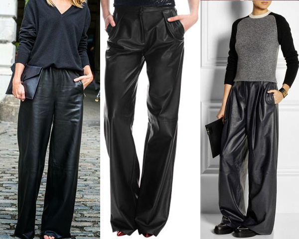 4 Iconic Leather Pants for a Stunning Look