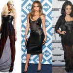sheer leather dresses