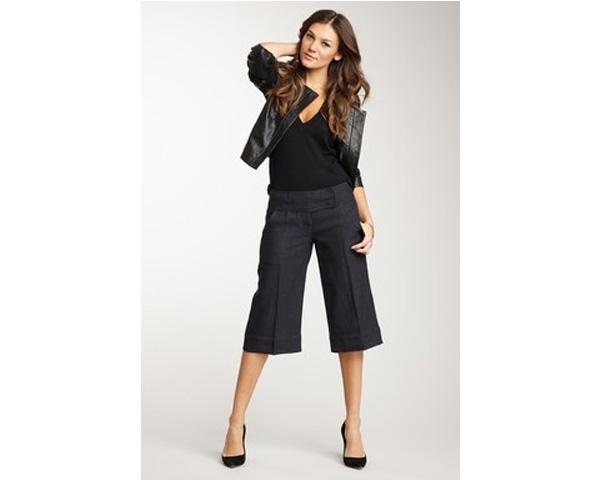 three fourth sized Gaucho pants